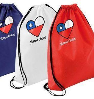 Vamos Chile Drawsting Bag – E38