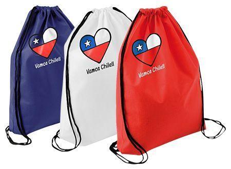 Vamos Chile Drawsting Bag