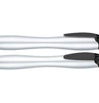 Bolígrafo Plástico Gordito Silver – L90