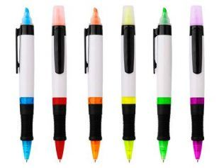 Bolígrafo con Destacador Top