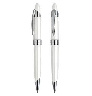 Bolígrafo Metálico White Pearl – L60