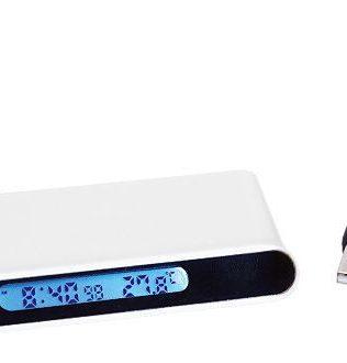 HUB USB con Reloj Digital – C22