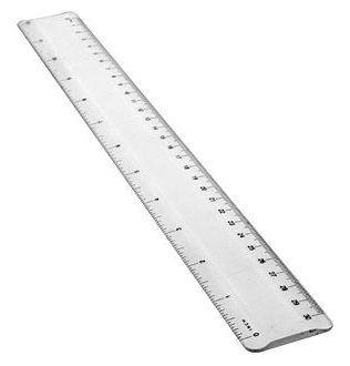 Regla Acrílica 30cm – N4