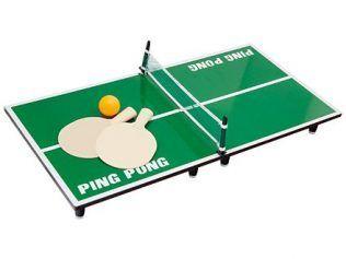 Mini Ping-Pong de Madera