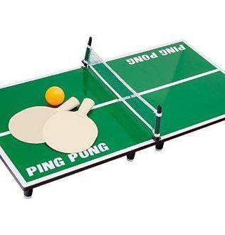 Mini Ping-Pong de Madera – J16