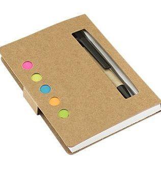 Memo Set Ecológico con Bolígrafo – N61
