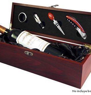 Caja de Madera para Vino – W5
