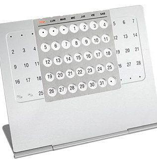 Calendario Eterno Metálico – N17