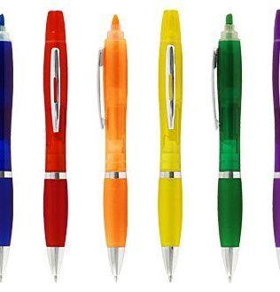 Bolígrafo con Destacador Wind Color – L35