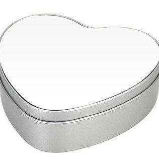 Caja Metálica Corazón Sublimación – Y94