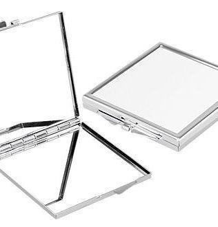 Espejo Metálico Cuadrado Sublimación – Y81