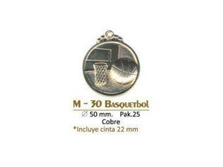 Medalla M-30 Basquetbol