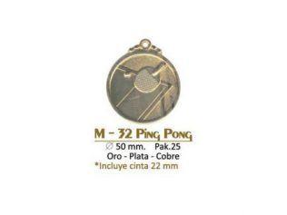 Medalla M-32 Ping Pong