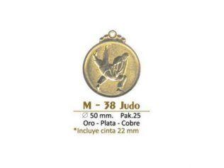 Medalla M-38 Judo