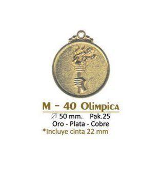 Medalla M-40 Olimpica