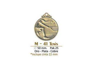 Medalla M-41 Tenis