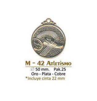 Medalla M-42 Atletismo