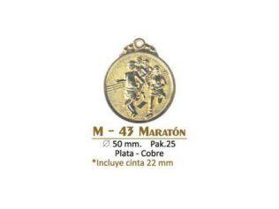 Medalla M-43 Maraton