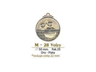 Medalla M28 Voley