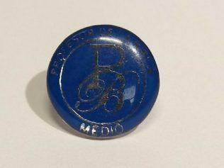 Pin Metalicas con Resina
