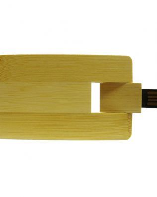 Pendrive Tarjeta Bambú 8 GB – N600
