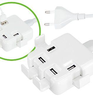 Hub USB 4 Puertos Power Strip – U40