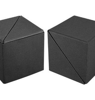 Memo Set Cubo Ecológico con Porta-Lápices – N69