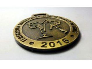 medalla para competencias