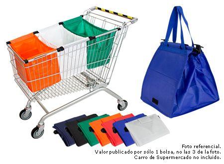 Bolsa Reutilizable Cart tnt