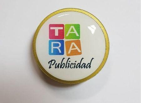 Pin Acrilico Publicitario Filete Dorado(1)