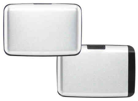 Porta-Tarjetas Anti-Clonación RFID con Power Bank