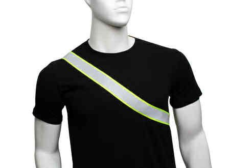 Banda reflectante para hombro y cintura