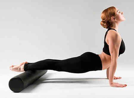 Rodillo liso de Yoga/Pilates